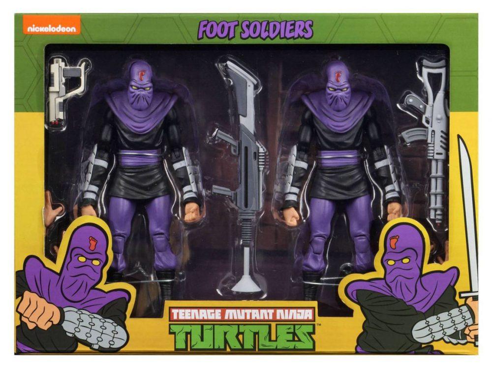 NECA TMNT Teenage Mutant Ninja Turtles Turtles In Time Foot Soldier NEW MISB
